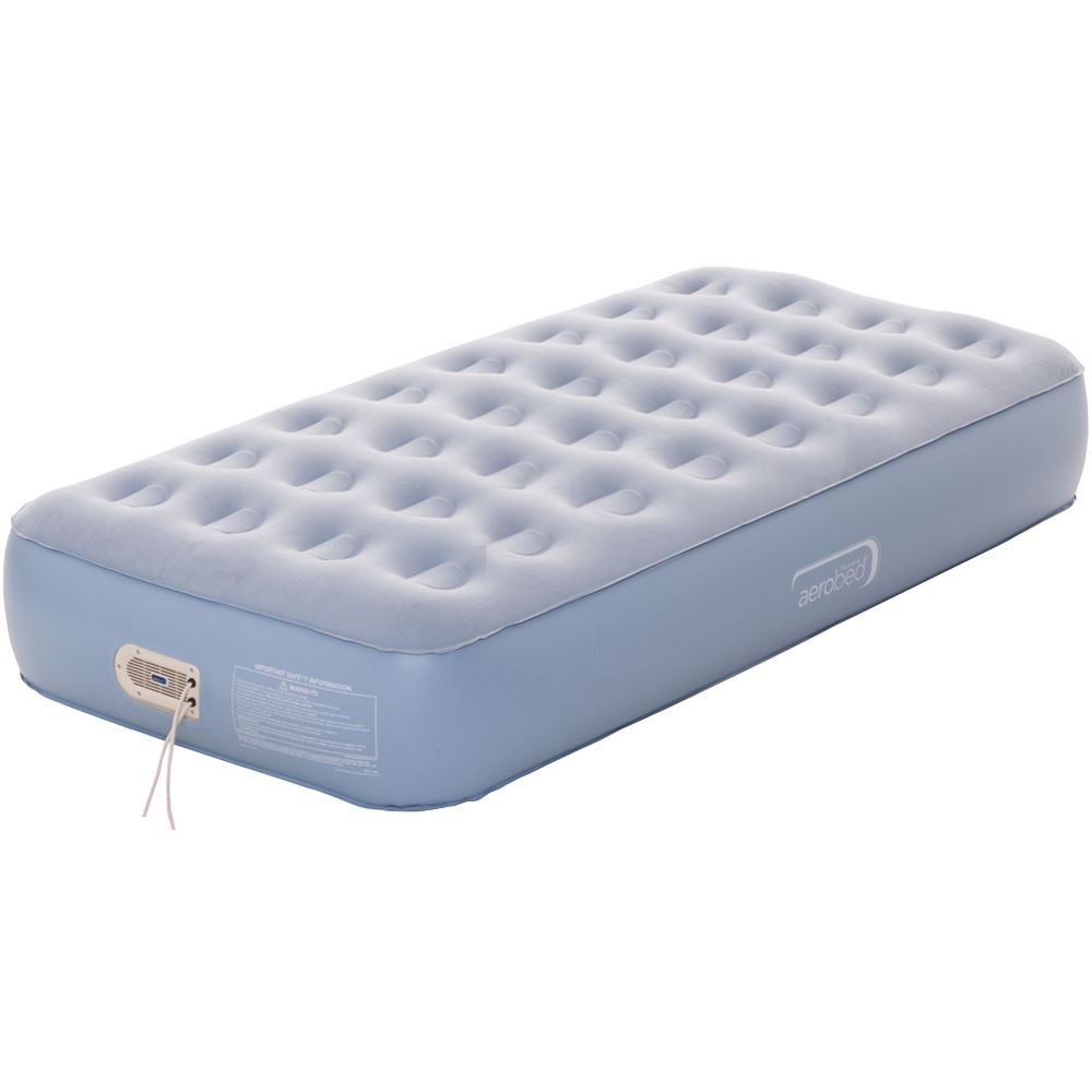 Coleman Aerobed Extra Comfort Single Mattress & Pump