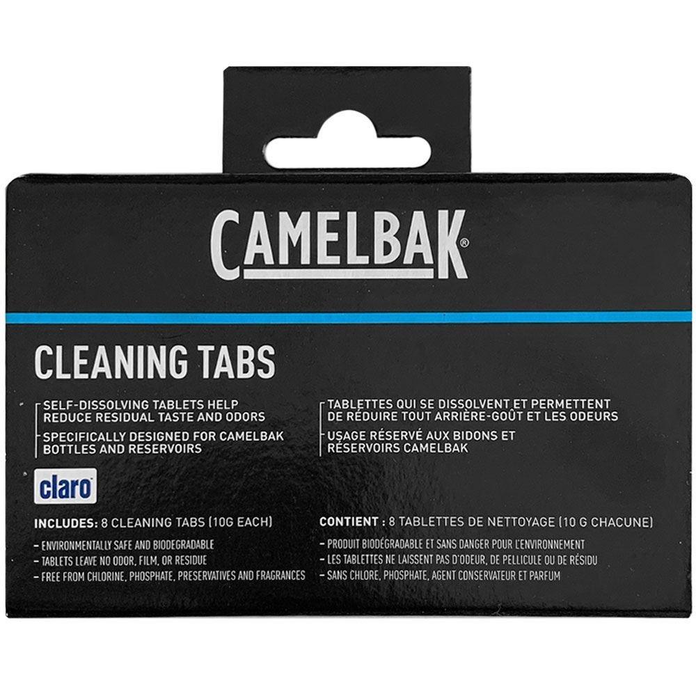 Camelbak Reservoir & Bottle Cleaning Tabs 8Pk Directions