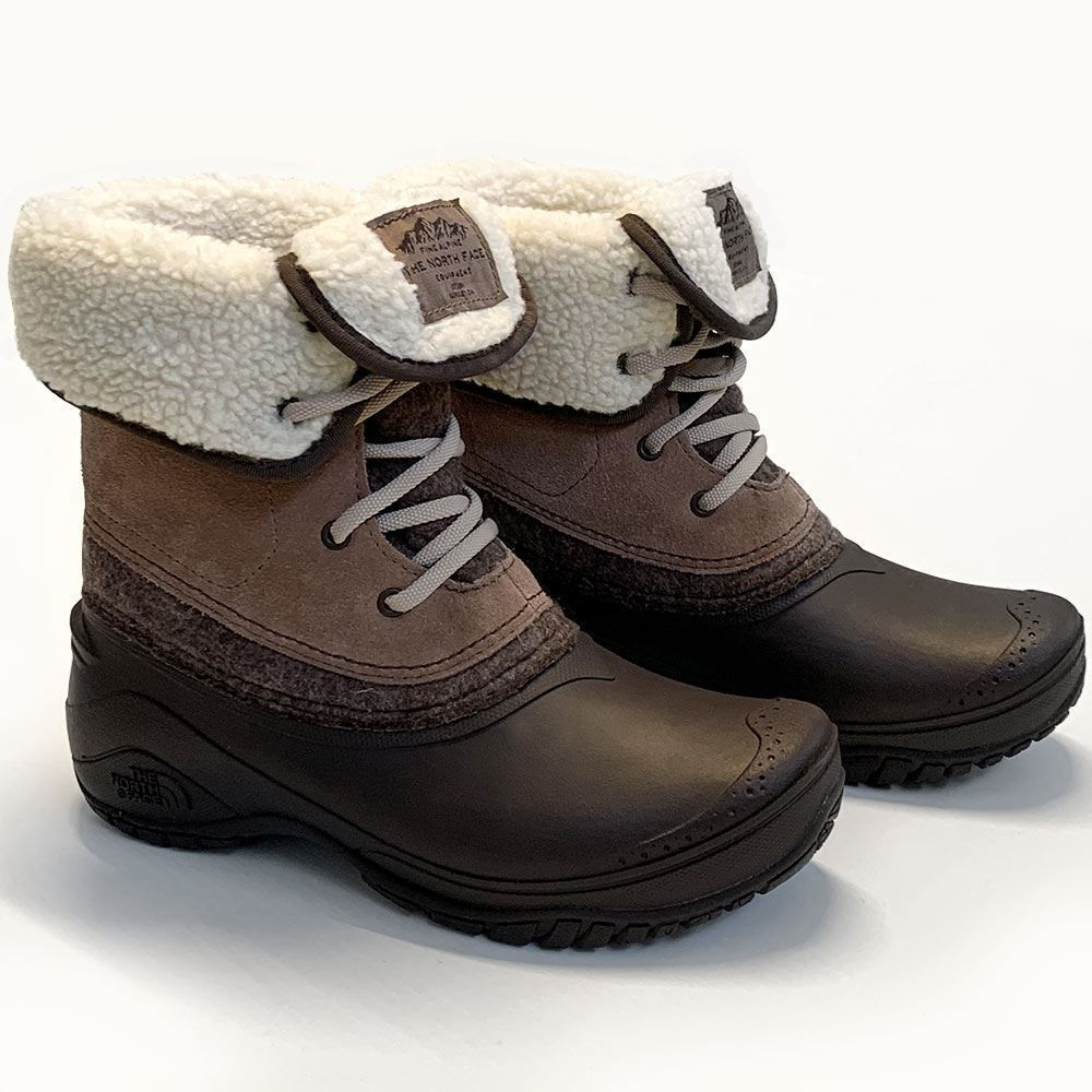 The North Face Shellista II Roll Down Women's Boot - Side view of pair