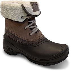 The North Face Shellista II Roll Down Wmn's Boot Caribou Demitasse Brown