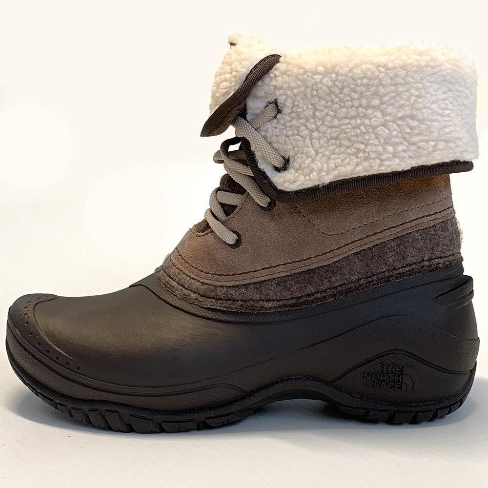 The North Face Shellista II Roll Down Women's Boot - Side view of boot