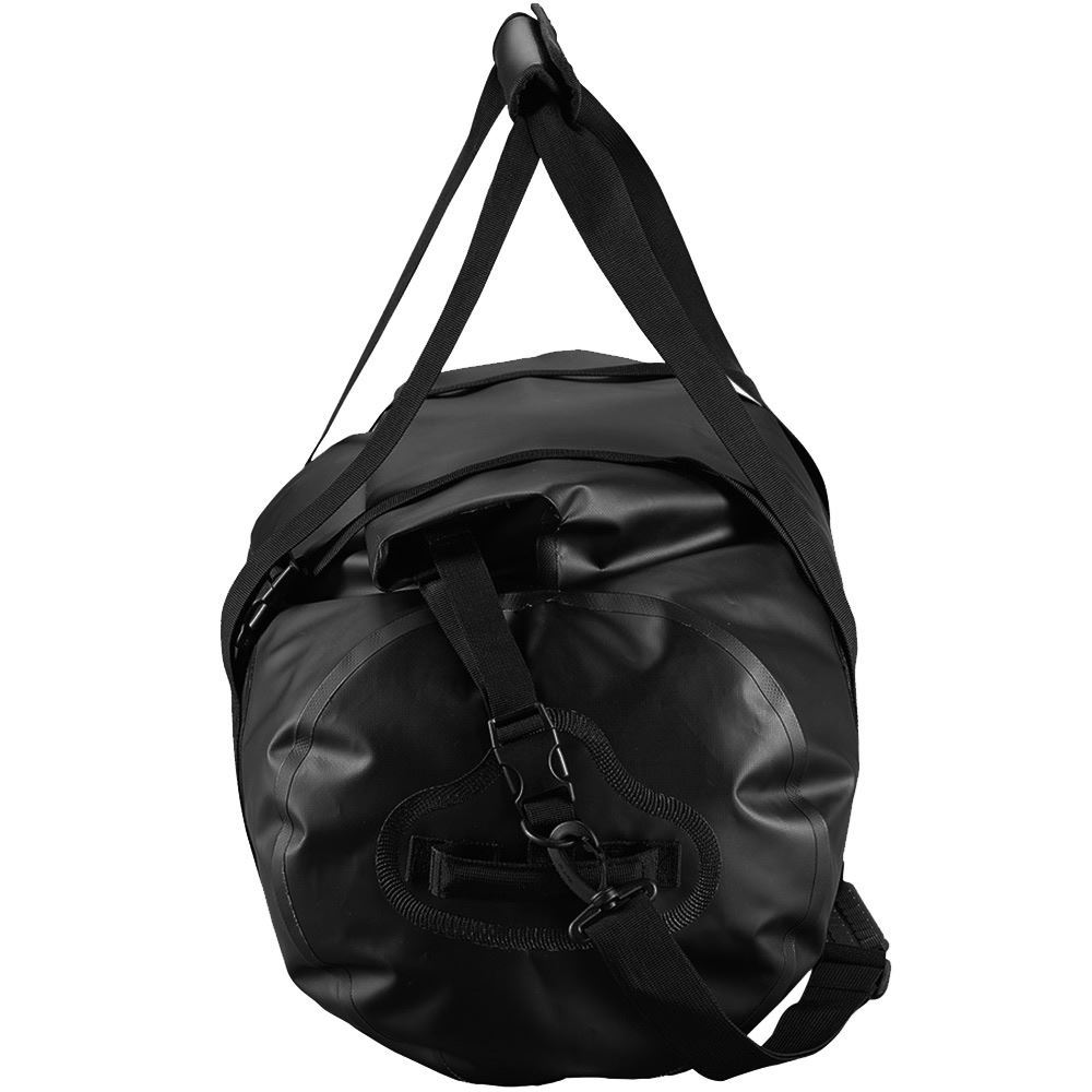 Caribee Expedition Wet Roll Bag 50L Black - Side view