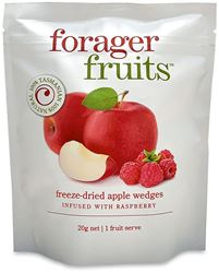 Forager Fruits Apple Wedges Raspberry Infused