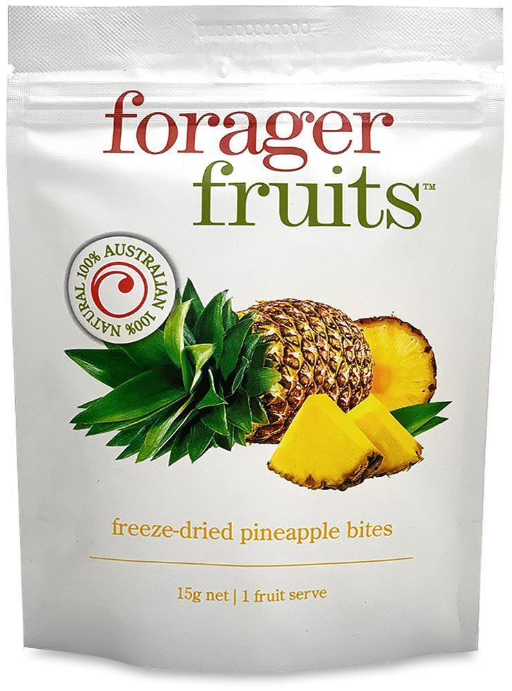 Forager Fruits Pineapple Bites 15gm