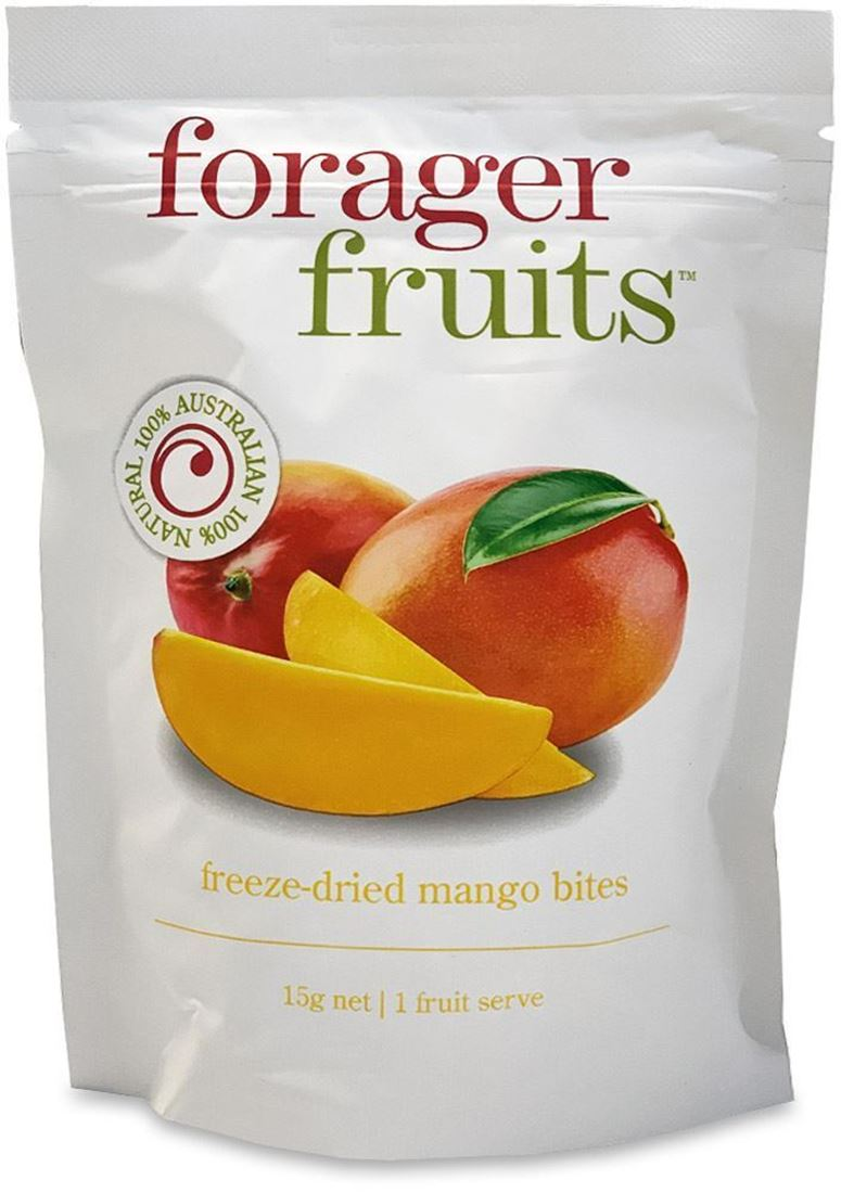 Forager Fruits Mango Bites 15gm