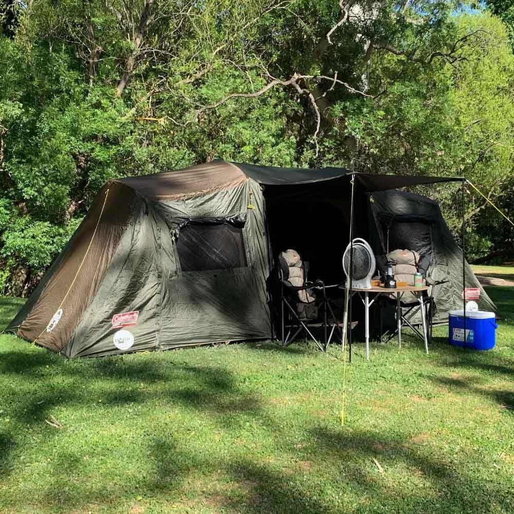 Coleman Instant Up 10P Lighted Northstar Darkroom Tent