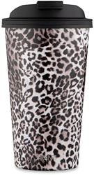 Avanti Go Cup Double Wall Insulated Cup 410ml Leopard