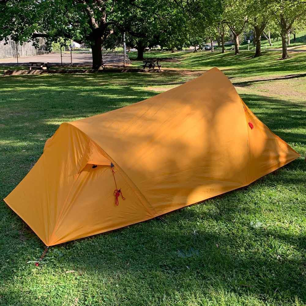 Zempire Atmos Hiking Tent - Back view
