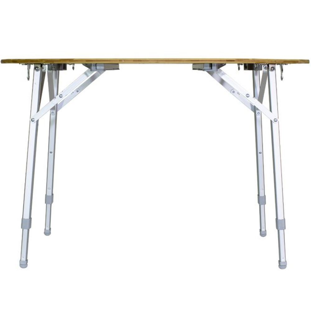 Zempire Kitpac Round Camp Table - Medium level adjustment