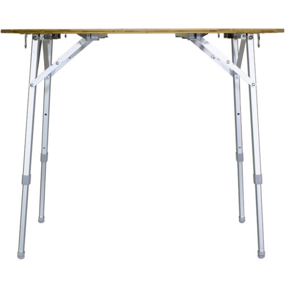 Zempire Kitpac Round Camp Table - High level adjustment