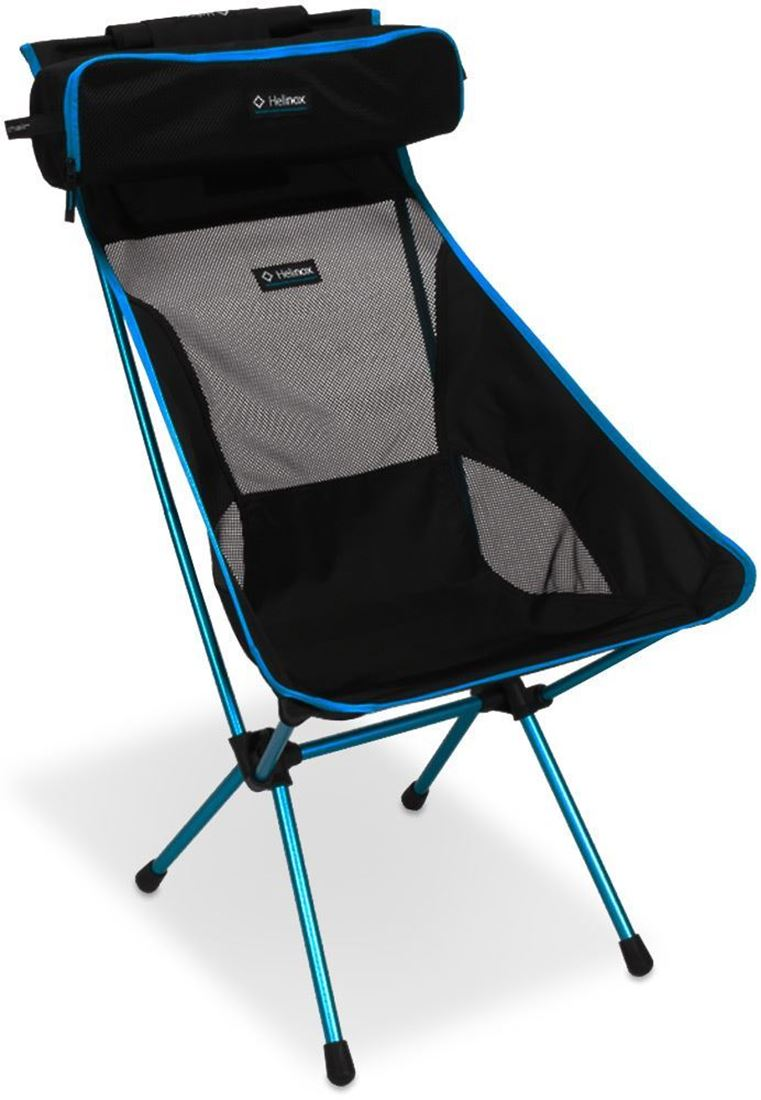 Helinox Sunset Chair Black & Cyan