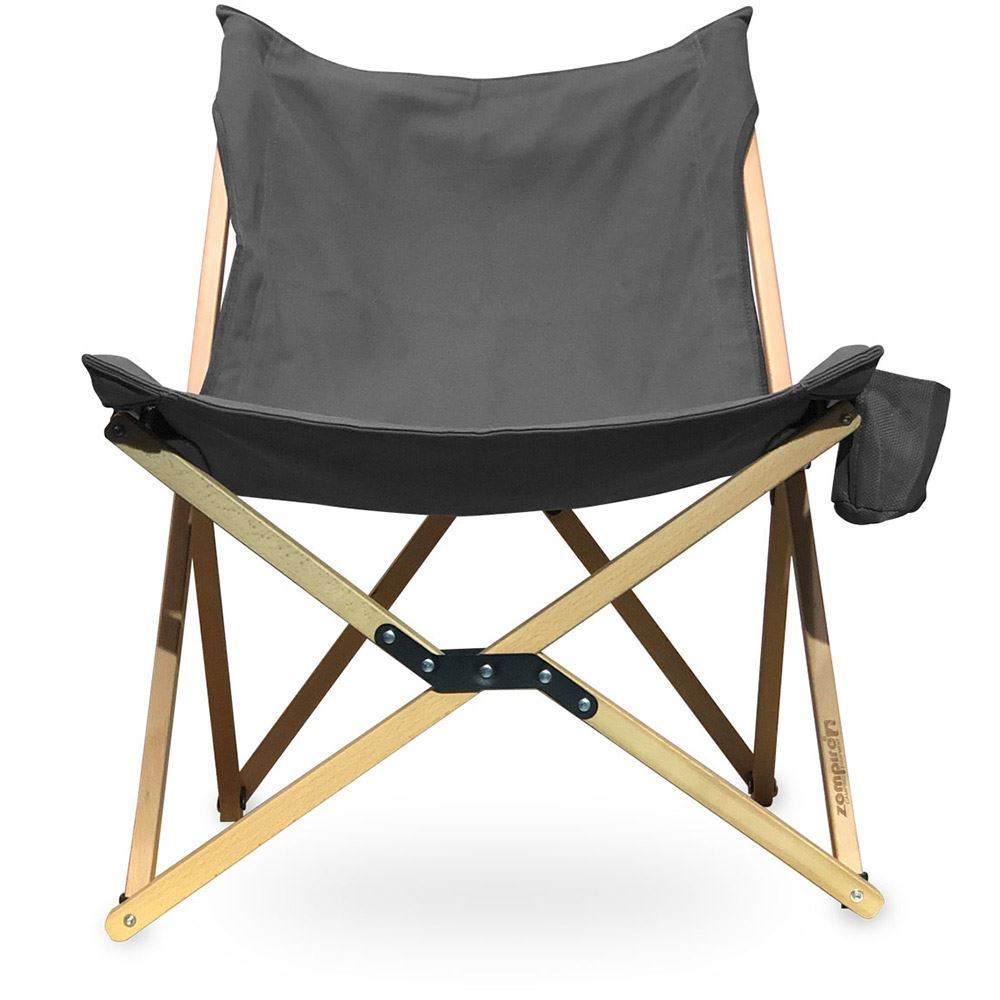 Zempire Roco Lounger Camp Chair Front View