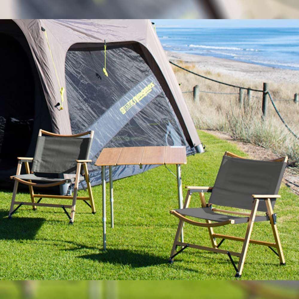 Zempire Roco Low Rider Chair in Campsite