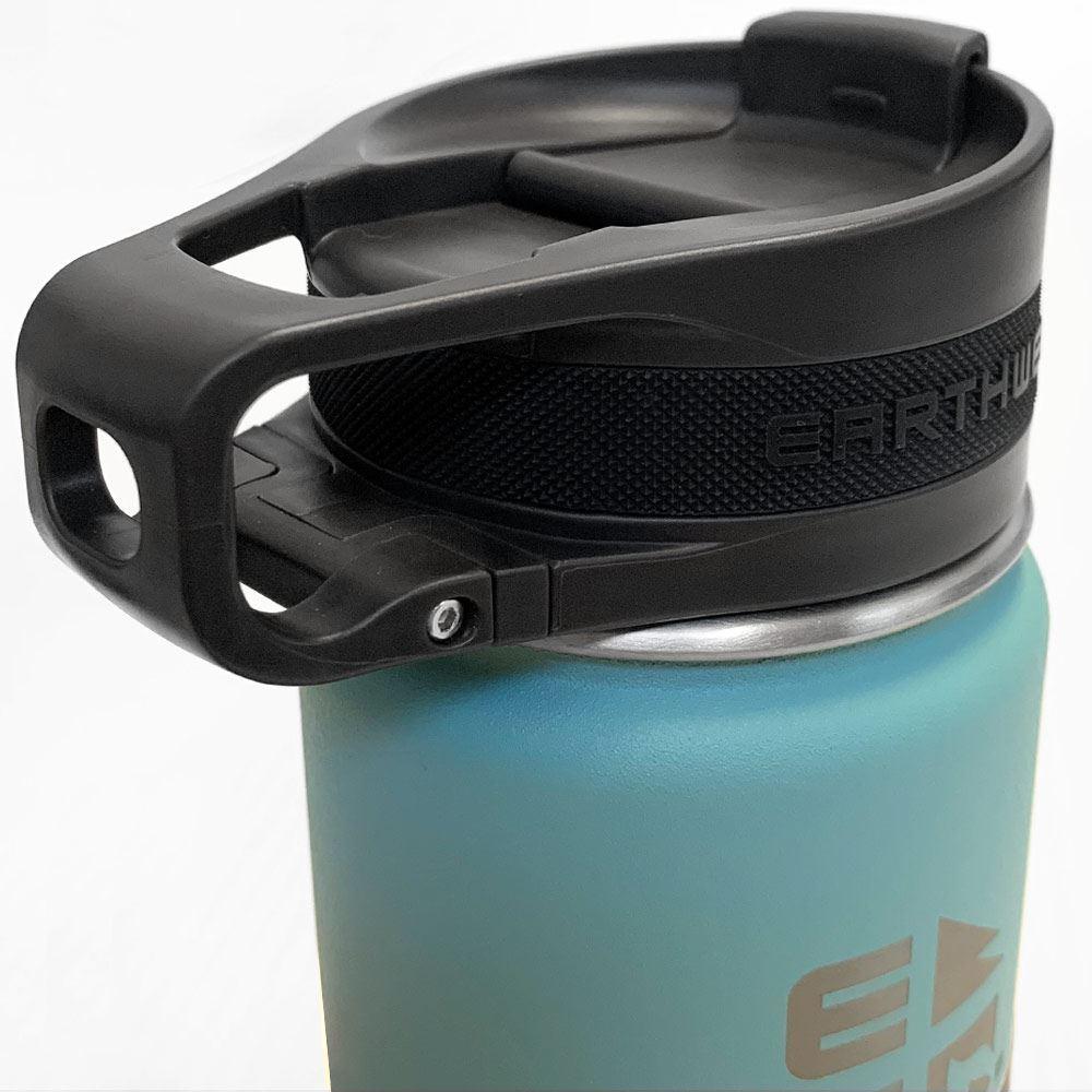 Earthwell Roaster Loop Cap Bottle 473ml - Closed lid