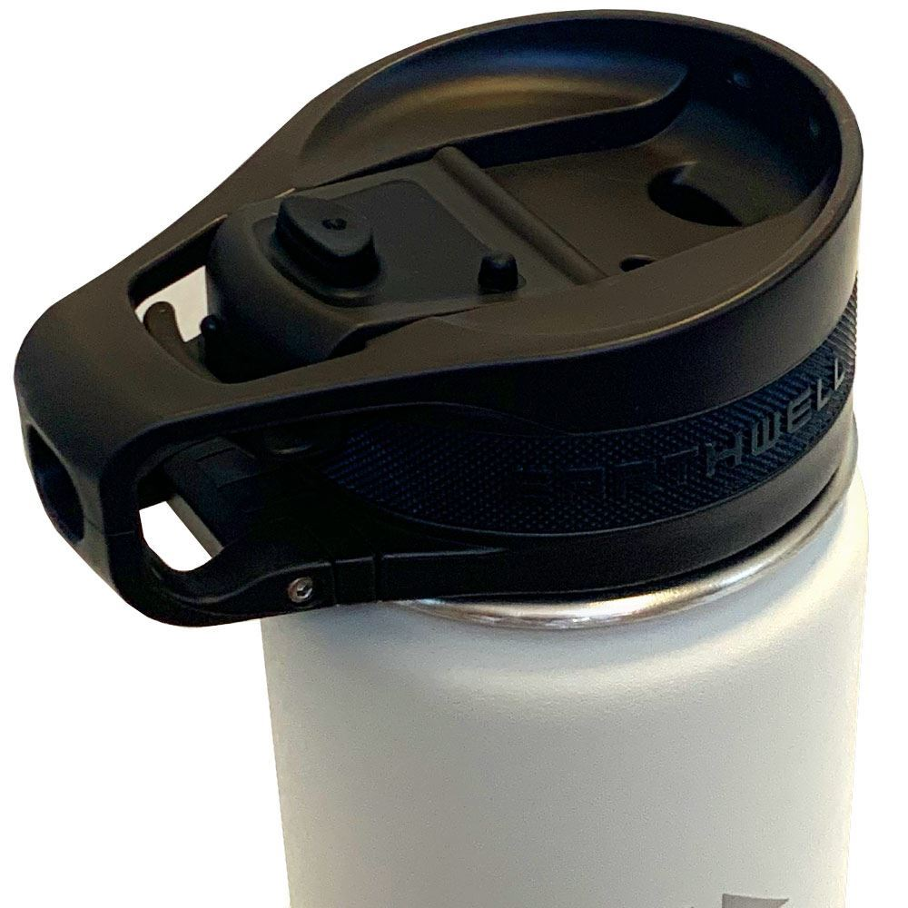Earthwell Roaster Loop Cap Bottle 592ml - Closed lid