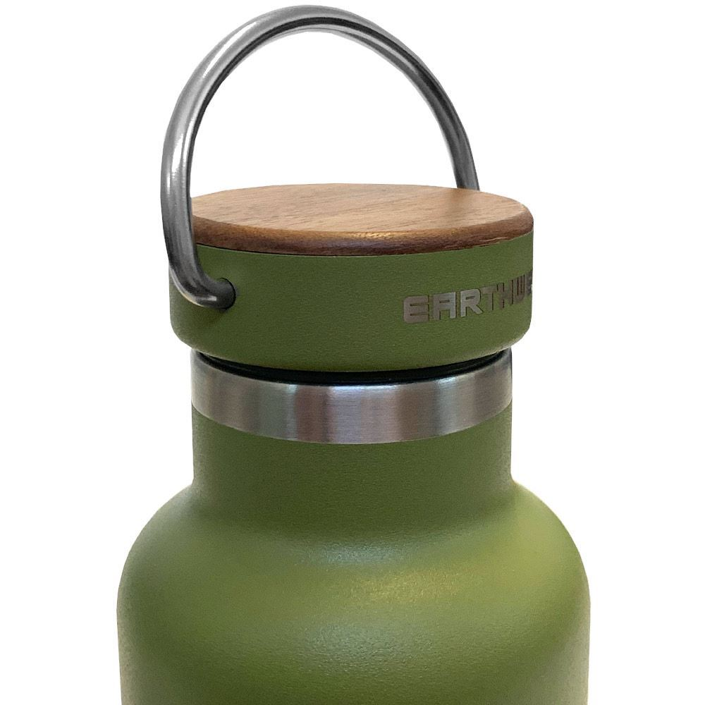 Earthwell Woodie Vacuum Bottle 650ml - Lid
