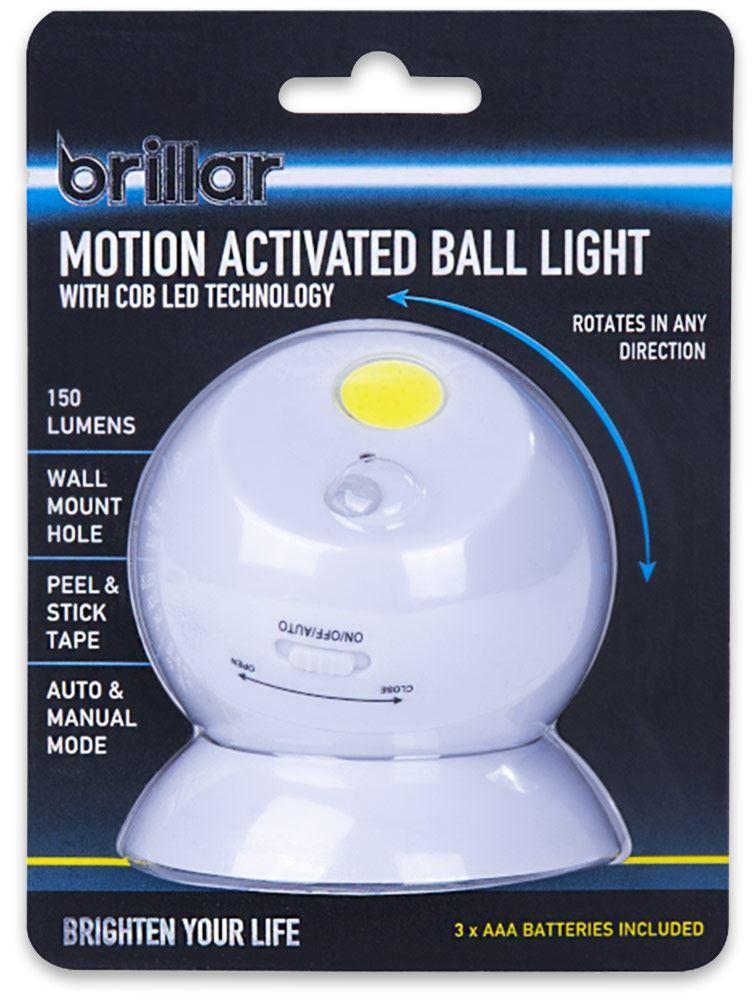 Brillar Motion Activated Ball Light