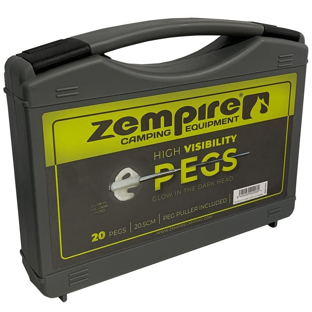 Zempire Glow Nail Pegs 20 Pk - Box