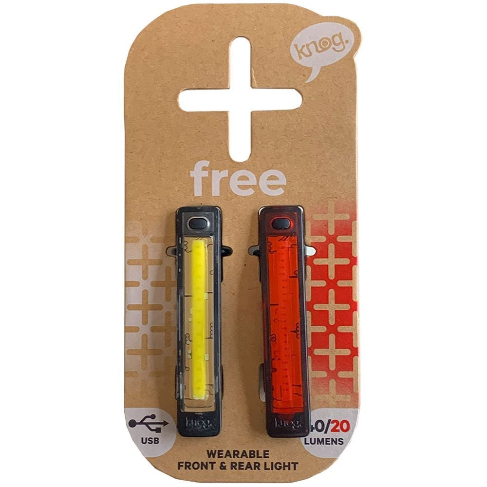 Knog Plus Free Light Twin Pack - Packaging