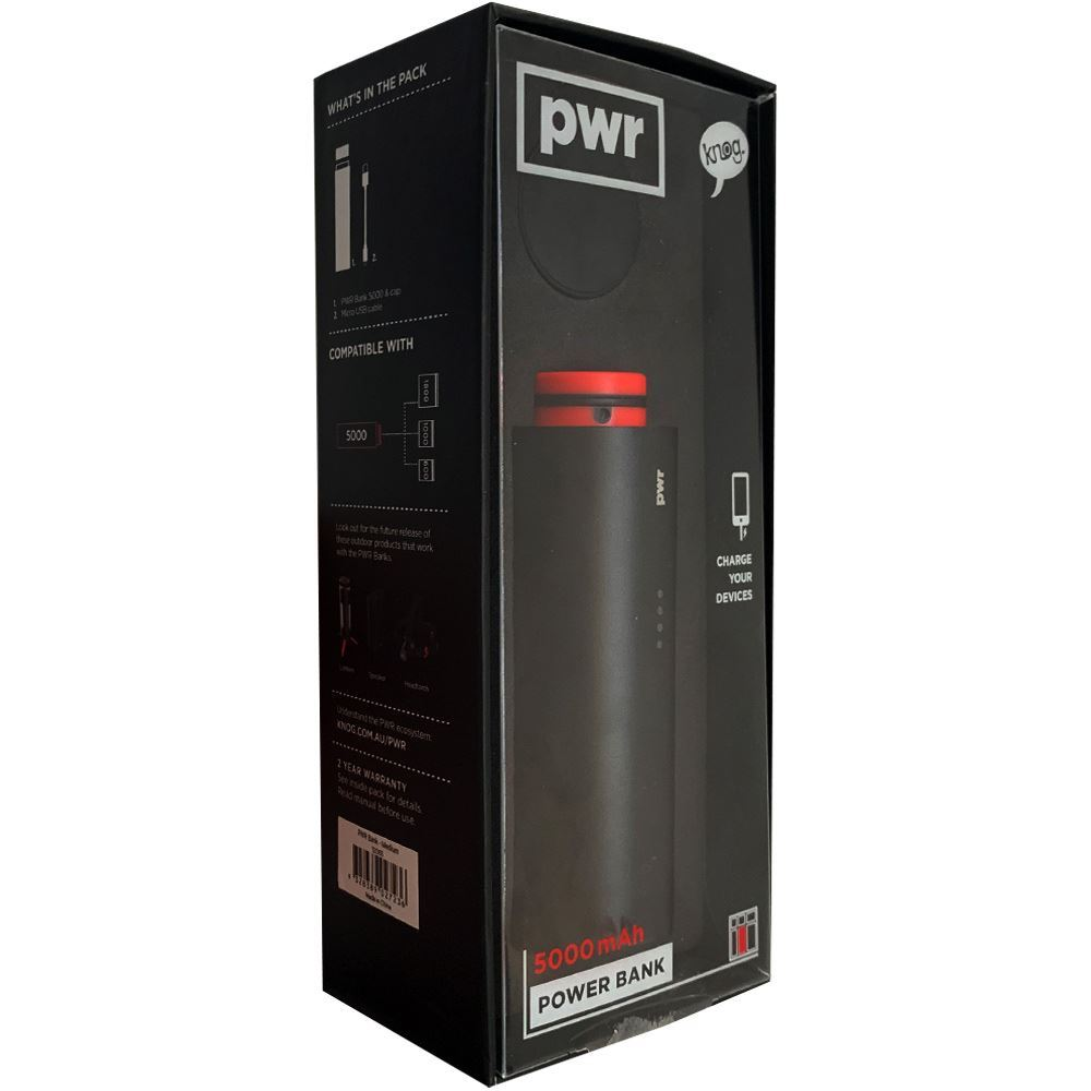 Knog PWR Bank Medium 5000 mAh - Packaging