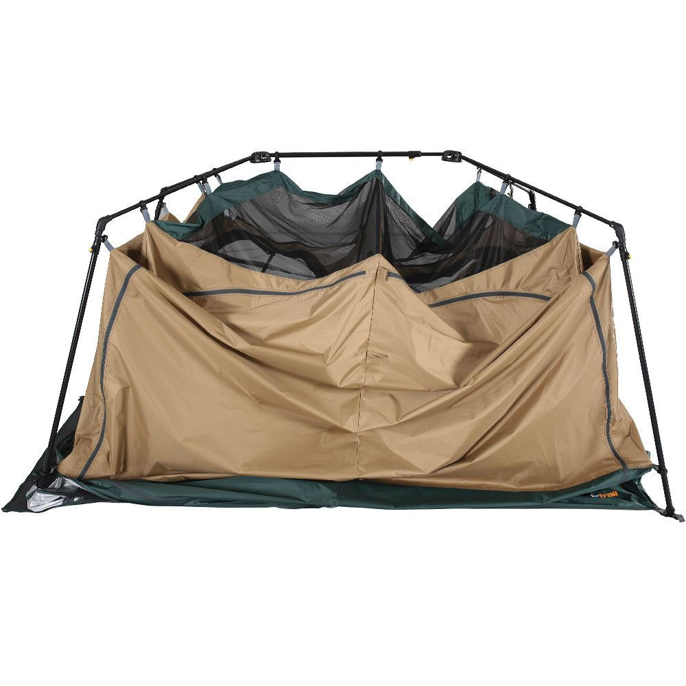 OZtrail Fast Frame Double Ensuite Tent Setup 4