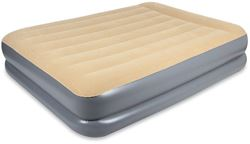 Oztrail Velour Air Mattress Queen Double High