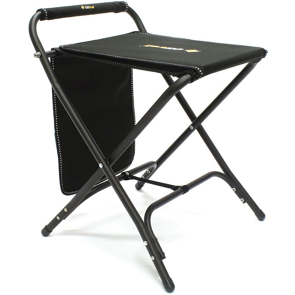 OZtrail RV Travel Mate Camp Stool Top Folded Over 2