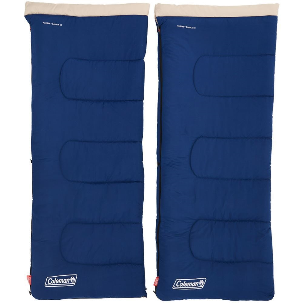 Coleman Mudgee C5 Double Sleeping Bag Separated