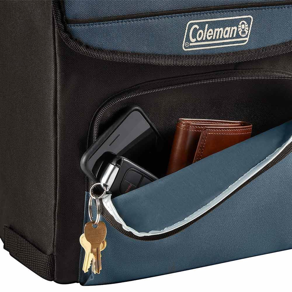 Coleman 34 Can Collapsible Cooler Accessory Pocket