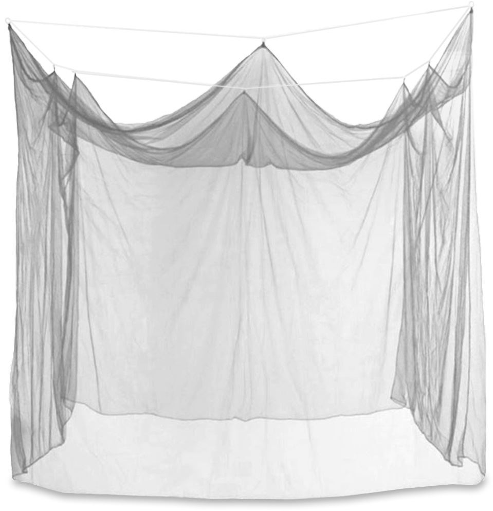 Kookaburra Box Style Single White Mosquito Net