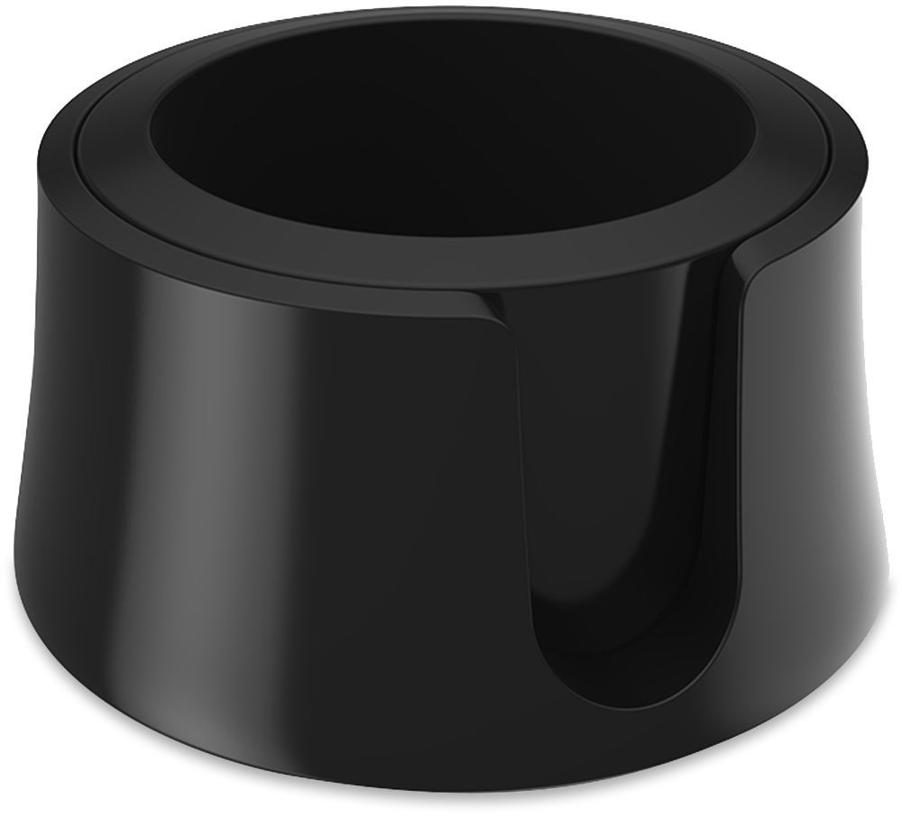 Avanti Table Coaster Drink Holder Jet Black