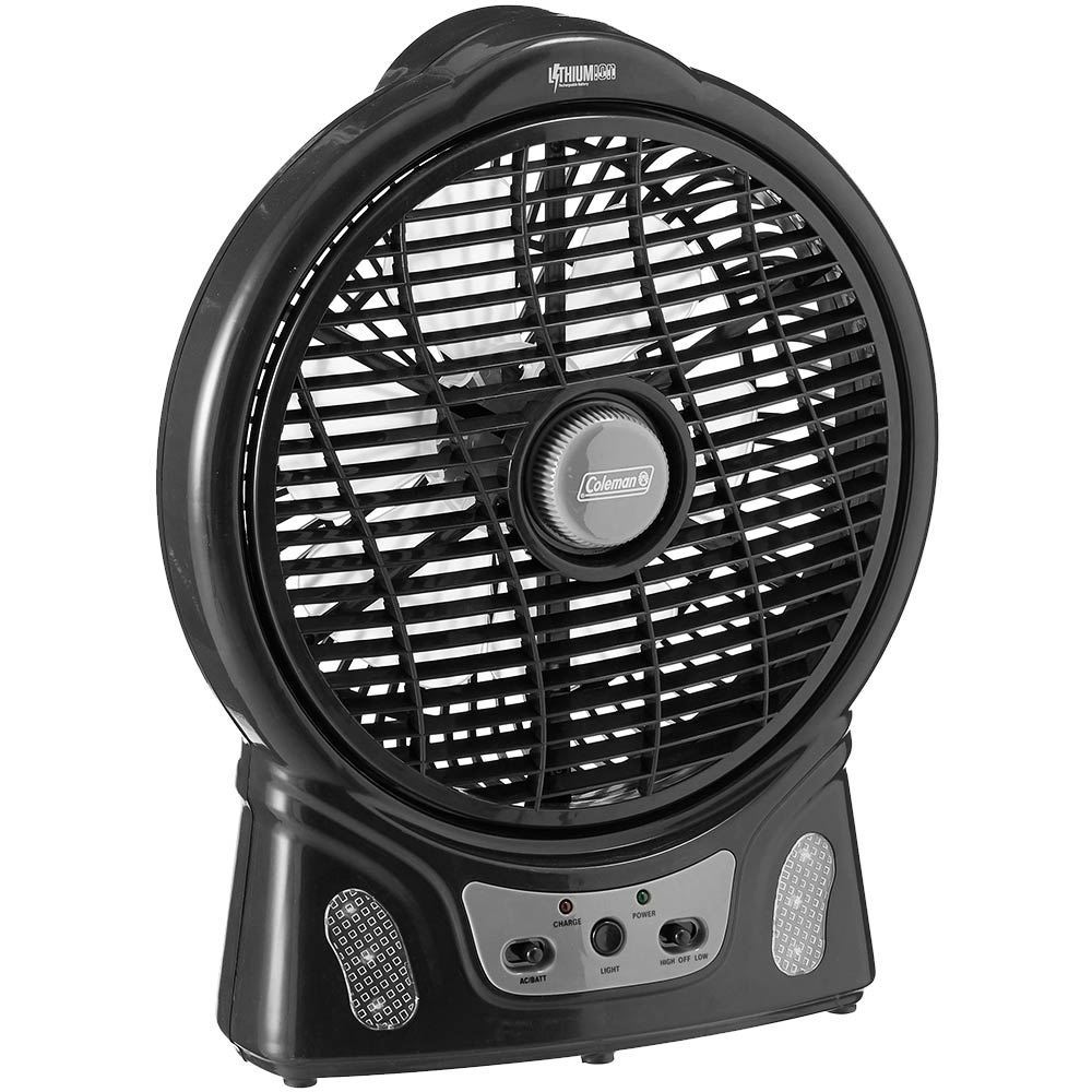 Coleman Rechargeable Lithium Ion Fan 8""