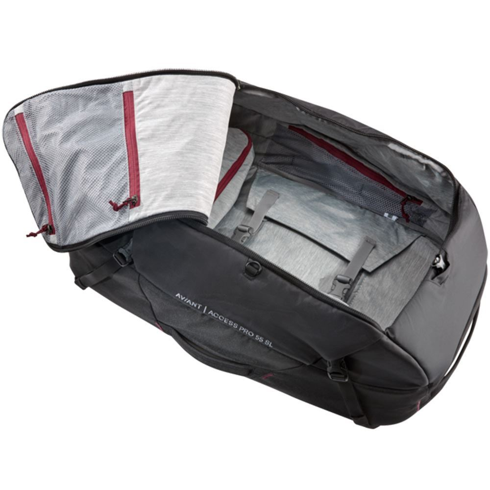 Deuter AViANT Access Pro 55 SL Black - Inside main compartment