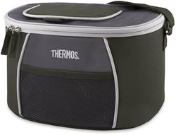 Thermos 12 Can Element E5 Cooler Grey Green