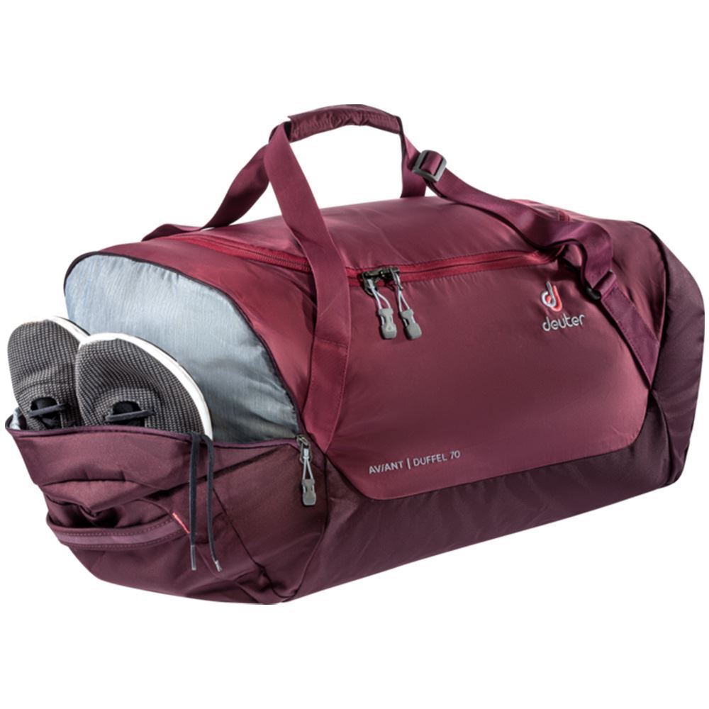 Deuter AViANT Duffel 70 - Shoes in side pocket