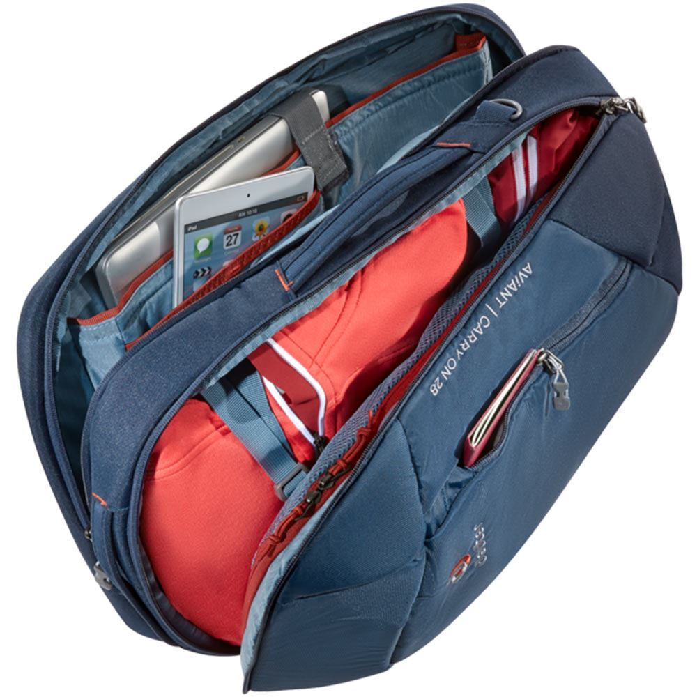 Deuter AViANT Carry On 28 - Gear inside compartments
