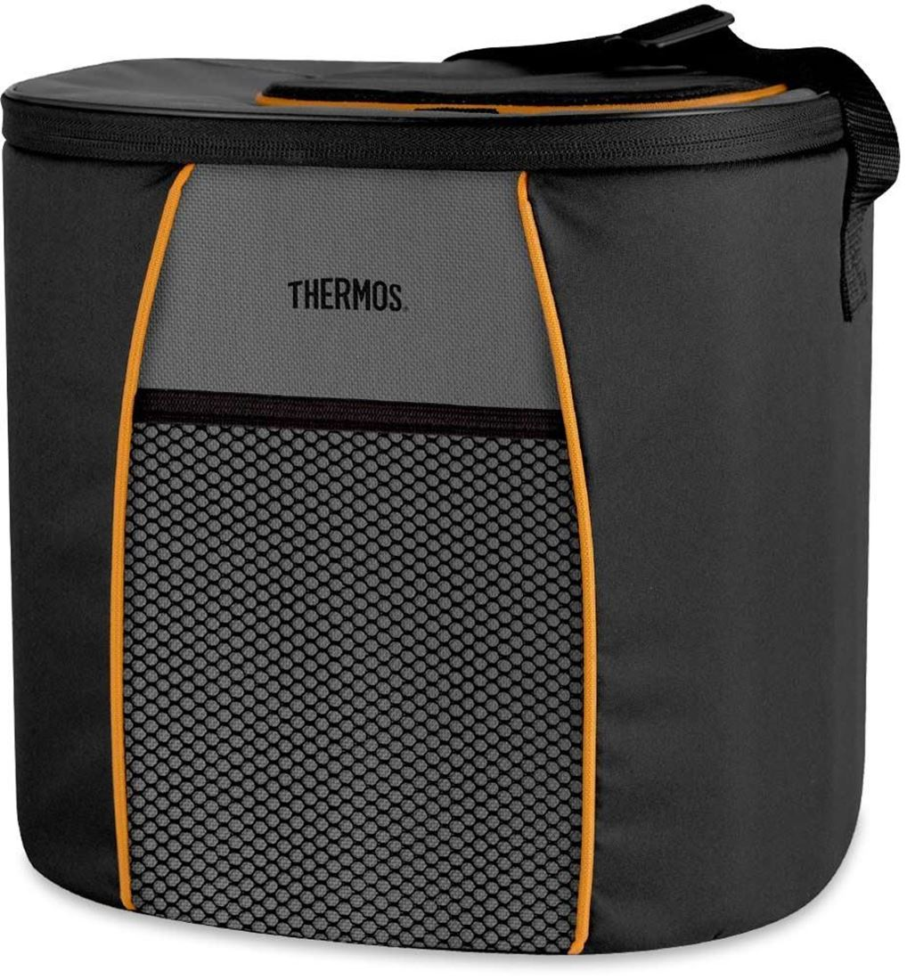 Thermos 24 Can Element E5 Cooler Grey Orange
