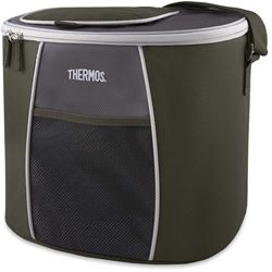 Thermos 24 Can Element E5 Cooler Grey Green