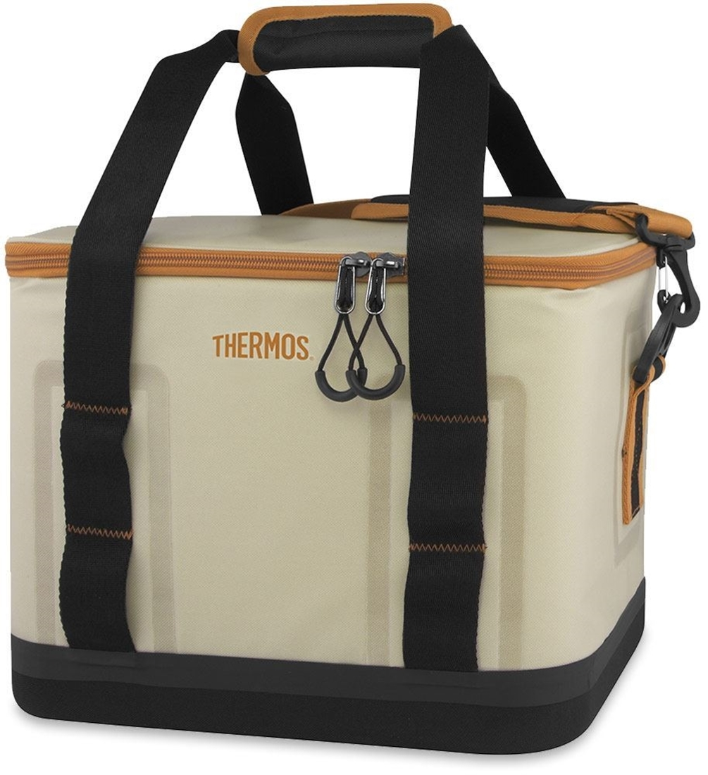 Thermos 18 Can Trailsman Insulated Cooler Cream Tan