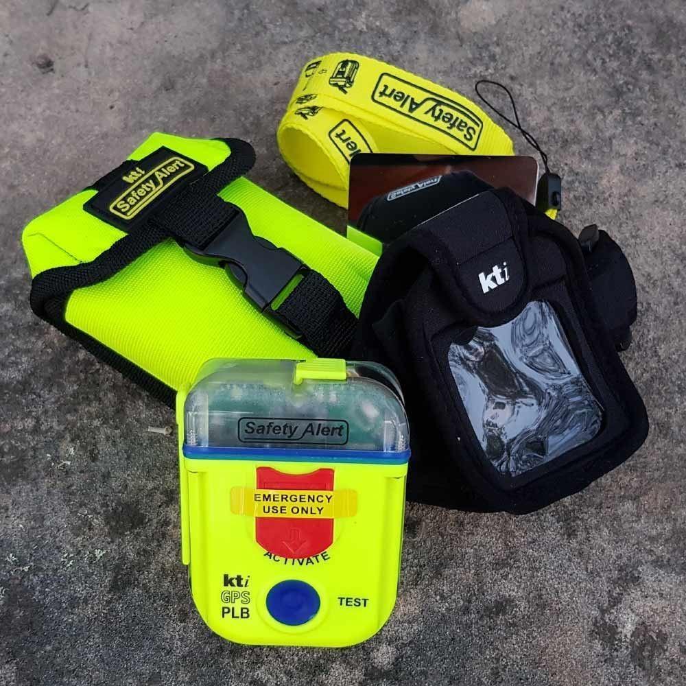 KTI Safety Alert PLB SA2GN with Case & Armband