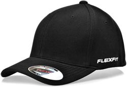 Flexfit Mini Ottoman Fitted Cap Flexfit Black