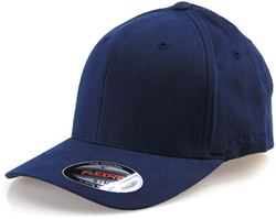 Flexfit Worn By The World Fitted Cap Dark Navy