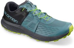 Salomon Ultra Pro Men's Shoe Bluestone Ebony Acid Lime