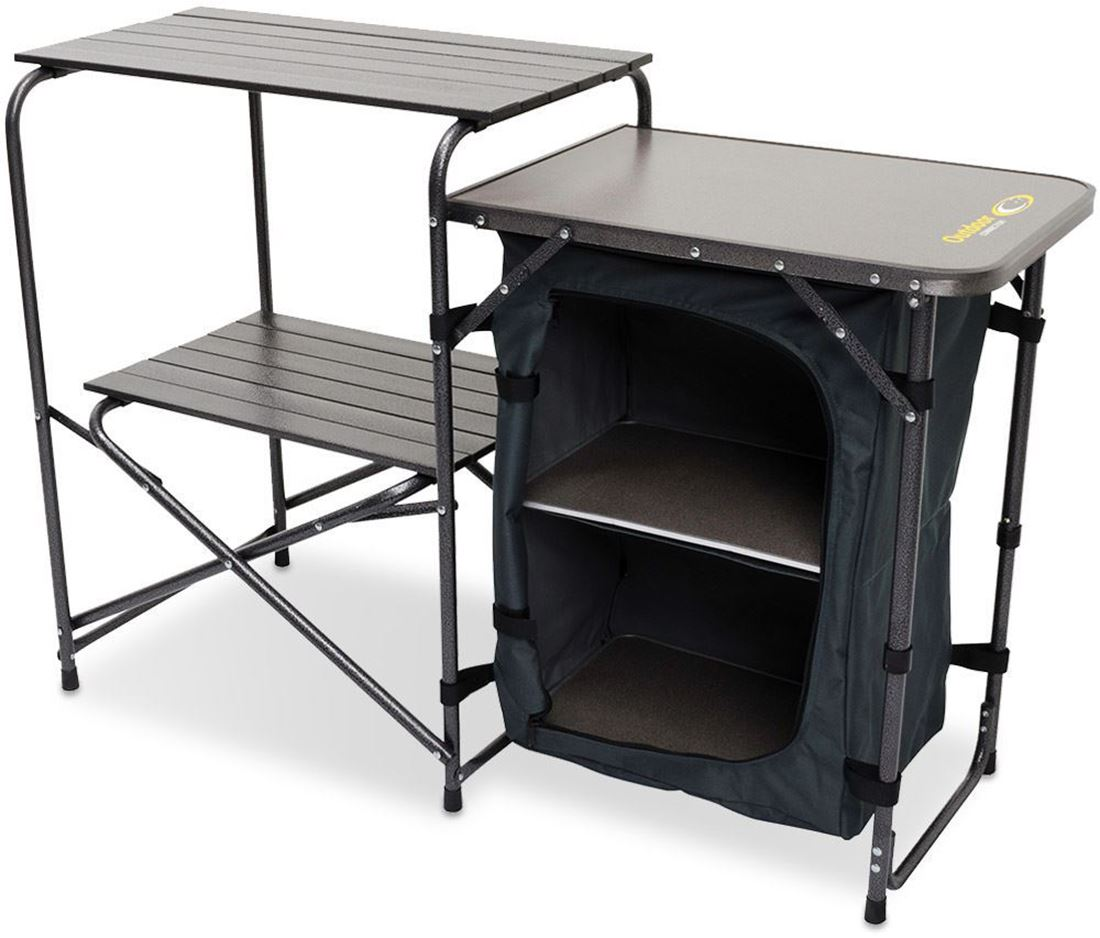 Outdoor Connection Stove Stand With Side Table