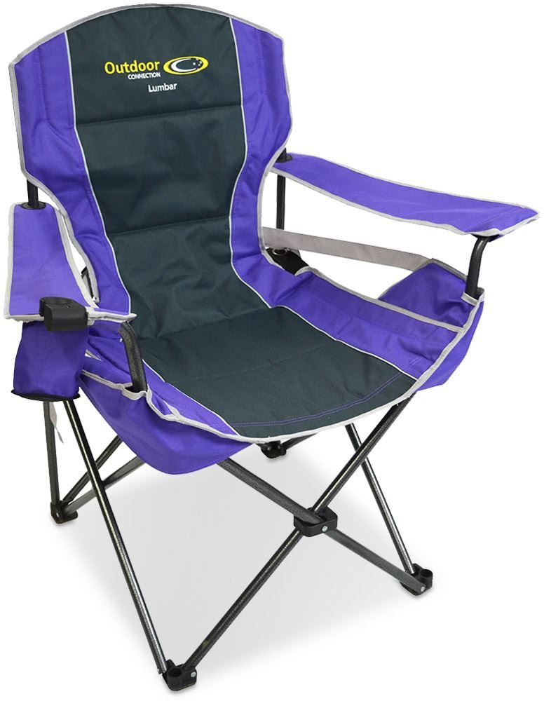 Outdoor Connection Lumbar Chair Purple