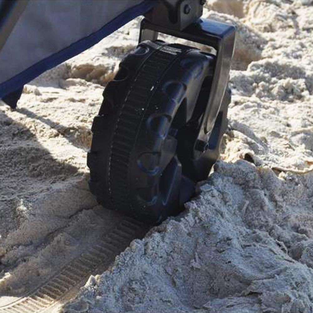 Outdoor Connection The Off Road Hauler - Wheel on sand