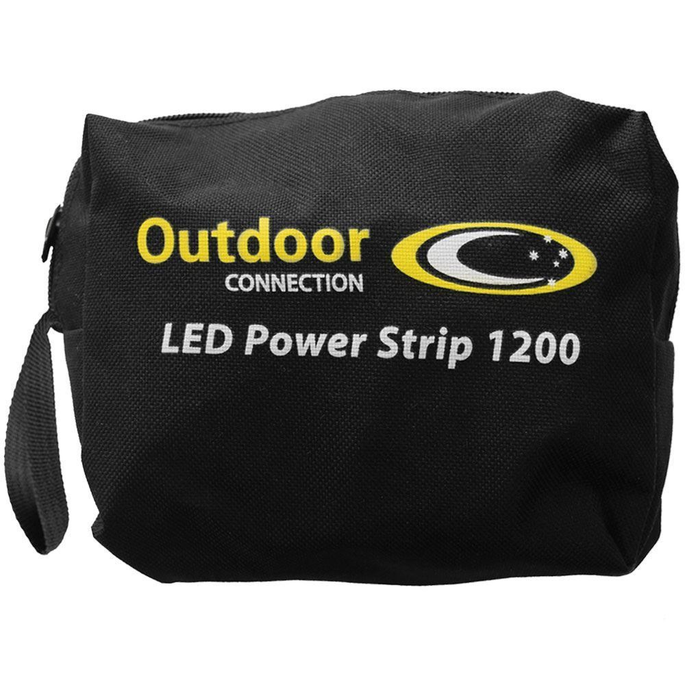 Outdoor Connection LED Power Strip 1200 Carry Bag