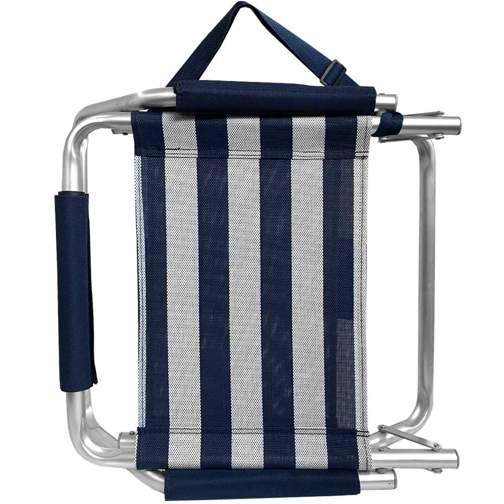 Companion High-Back Beach Chair - Upright with handle