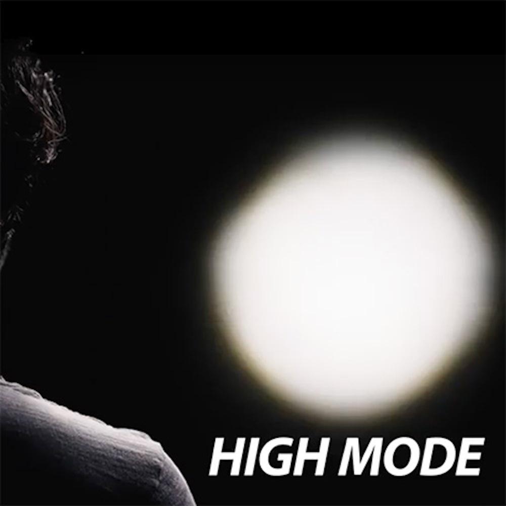 Nebo Redline Flex Flashlight High Mode