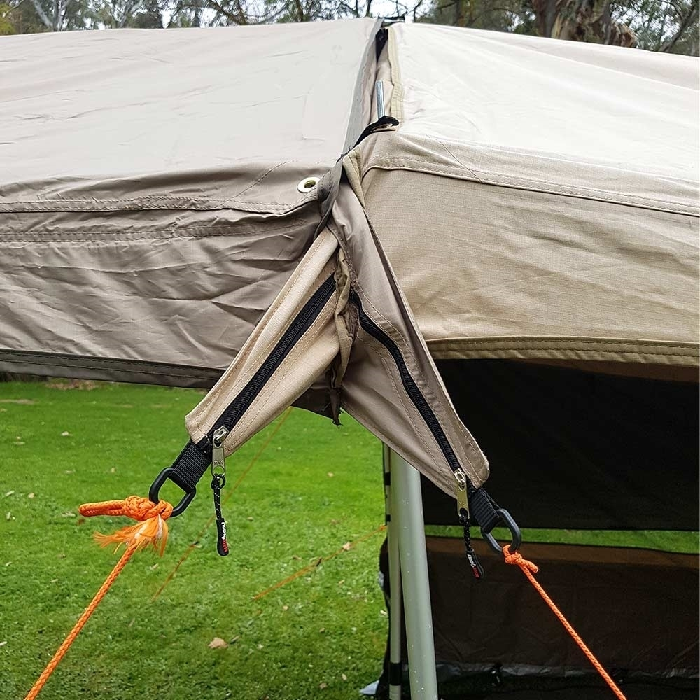 Black Wolf Turbo Extenda Awning - Joining to Turbo tent